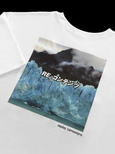 new replay campaign 1/2 tee (blue)
