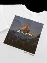 new replay campaign 1/2 tee (pink)