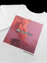new replay campaign 1/2 tee (magenta)