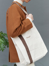 RC mix strap eco bag (ivory)