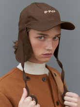 RC earflap cap (brown)