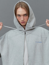 RC zip-up heavy hoody (gray)