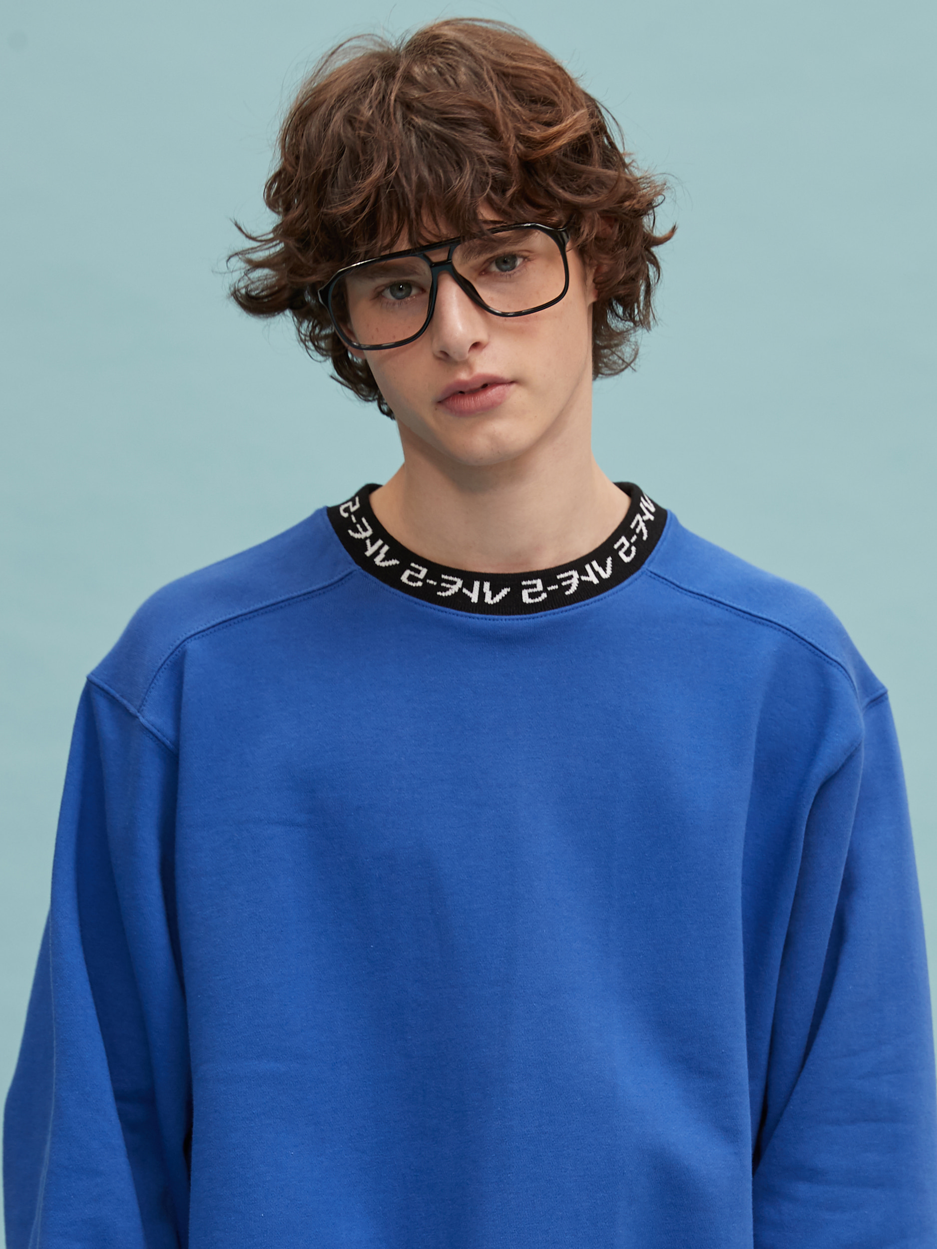 RC neck logo mtm (cobalt blue)