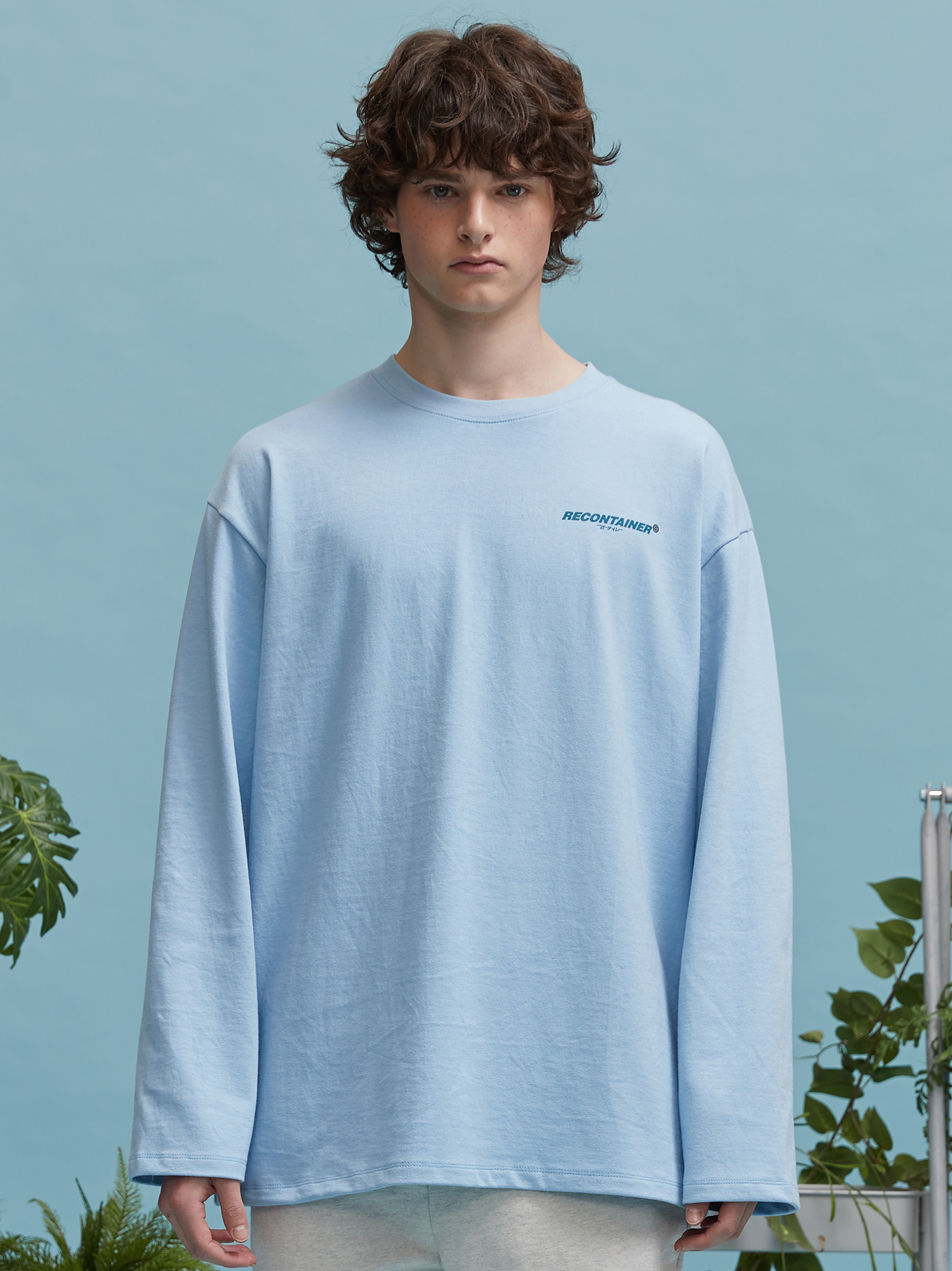 RC logo long sleeve (sky blue)